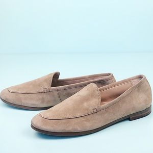Banana Republic Nutmeg Suede Demi Loafer
